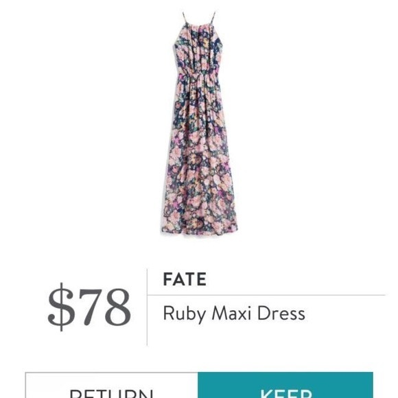Fate Dresses & Skirts - Fate Ruby Maxi Dress
